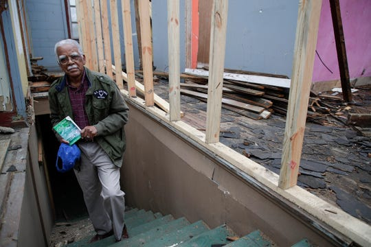 """James """"Jack"""" Hadley, founder of the Jack Hadley Black History Museum in Thomasville, Ga. purchased the old Imperial Hotel and hopes to restore it."""