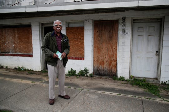 "James ""Jack"" Hadley, founder of the Jack Hadley Black History Museum in Thomasville, Ga. purchased the old Imperial Hotel and hopes to restore it."