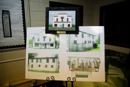 Also on display in the library at the Jack Hadley Black History Museum are photographs of the original Imperial Hotel before it deteriorated.