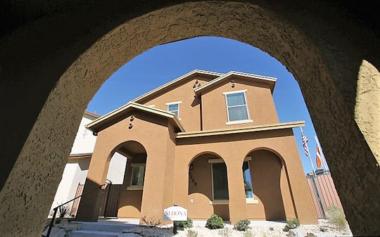A Desert View home in The Boulders, a special, 59-home project built several years ago on 10 acres on Westwind Drive in West El Paso.