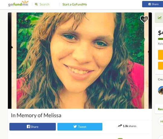 A GoFundMe has been set up for Melissa Castillo DeLoatch, who died yesterday after a man reportedly drove his car through a family of eight twice outside of a 7-Eleven in Garnerville on Wednesday, Feb. 21