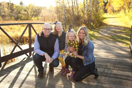 Inheritance Adoptions helped Eric and Jenny Levenhagen create a family of daughters. A fundraiser for the organization will be at 7 p.m. Feb. 28 at The Wichita Theatre, 919 Indiana. Tickets are $28 for general admission and $23 for children under 10.