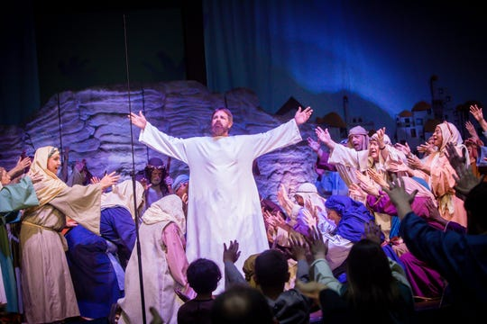 """Faith Baptist Church has over 150 people volunteer to present """"Victorious: Experience the Struggle … Celebrate the Victory!"""" The church, at 3001 Southwest Parkway, will present the production at 7 p.m. Friday, April 19, 7 p.m. Saturday, April 20, or 10:30 a.m. Easter Sunday, April 21."""
