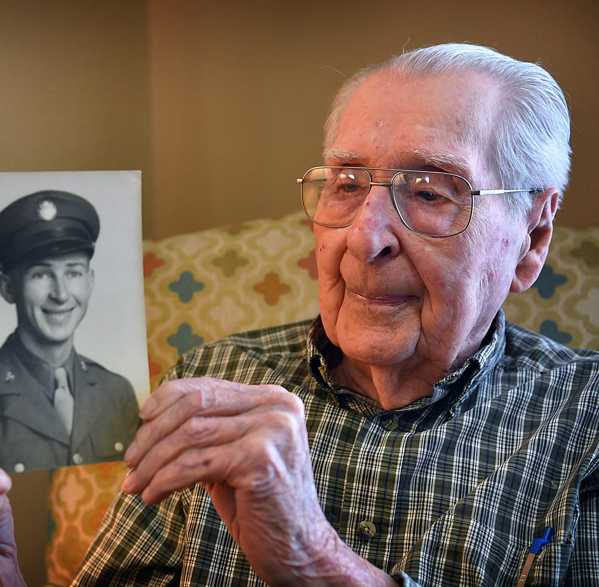 What is the greatest gift you can give a Texas WWII vet for his 100th birthday?
