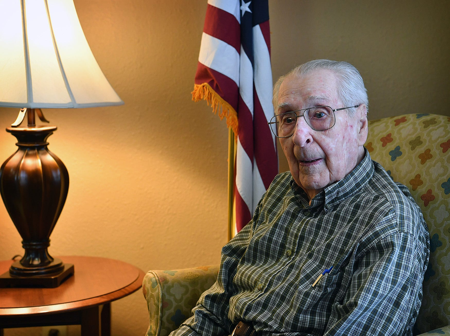 Joe Cuba, 99, talks about his service in the Army Air Corps during World War II. The veteran is hoping to receive 100 birthday cards by his 100th birthday on March 2.