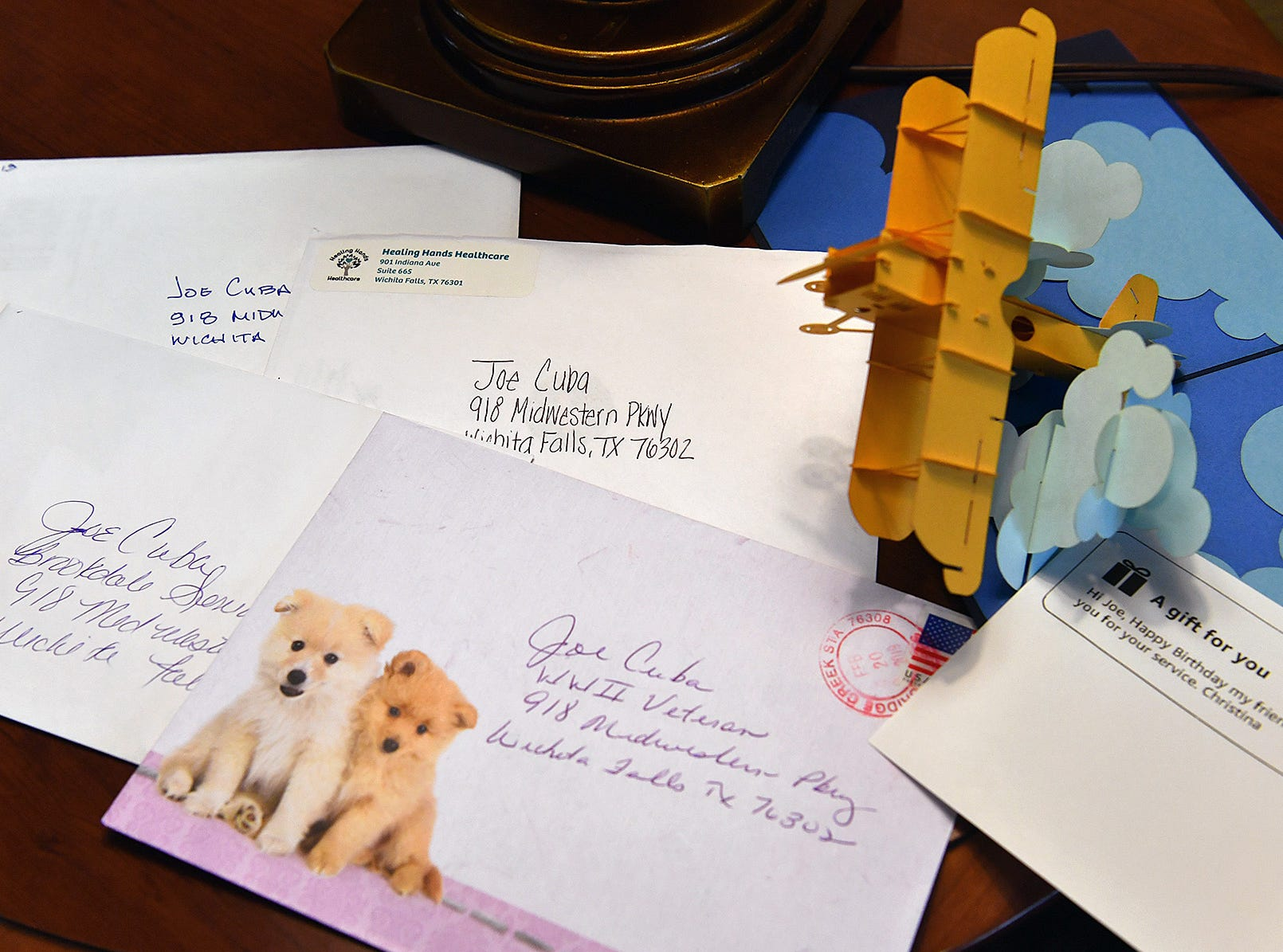 Birthday cards have begun arriving for World War II veteran Joe Cuba who will turn 100-years old on March 2. Cuba is hoping to receive 100 cards for his birthday.