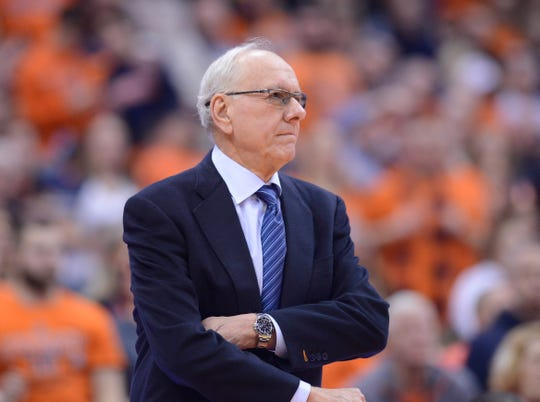 Syracuse Orange head coach Jim Boeheim.