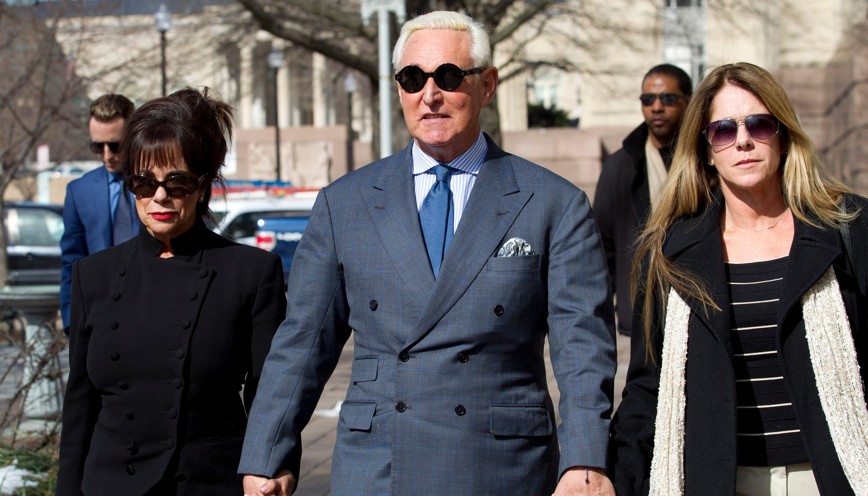 Roger Stone, a GOP operative and Trump ally, faces trial on accusations he lied to Congress thumbnail