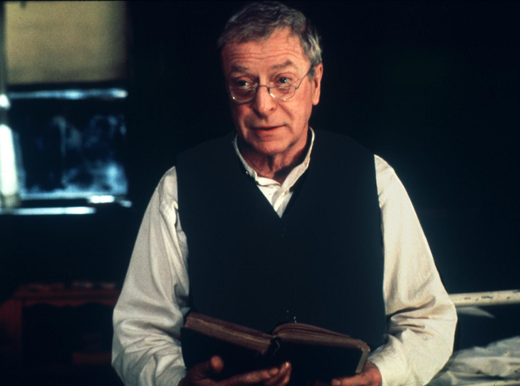 """Actor Michael Caine is shown in a scene from the film """" The Cider House Rules. """"  Caine received an Academy Award nomination for best supporting actor February 15.  The Academy Awards will be presented March 26 in Los Angeles."""