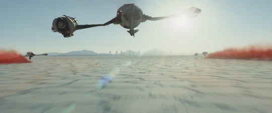 "The planet Crait in ""Star Wars: The Last Jedi."""