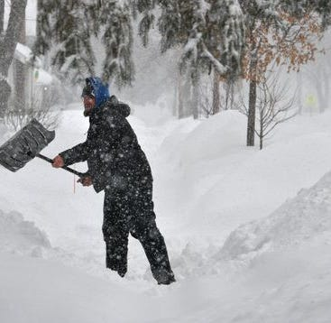 Minneapolis endures snowiest February on record, with blizzard possible this weekend
