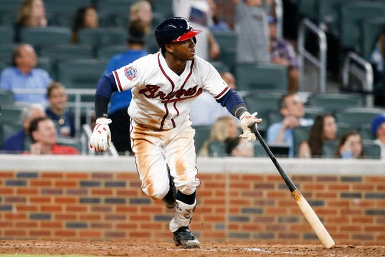 In his first full season in the majors, Ozzie Albies hit .261 with 24 homers and 105 runs scored for the Braves, at age 21.
