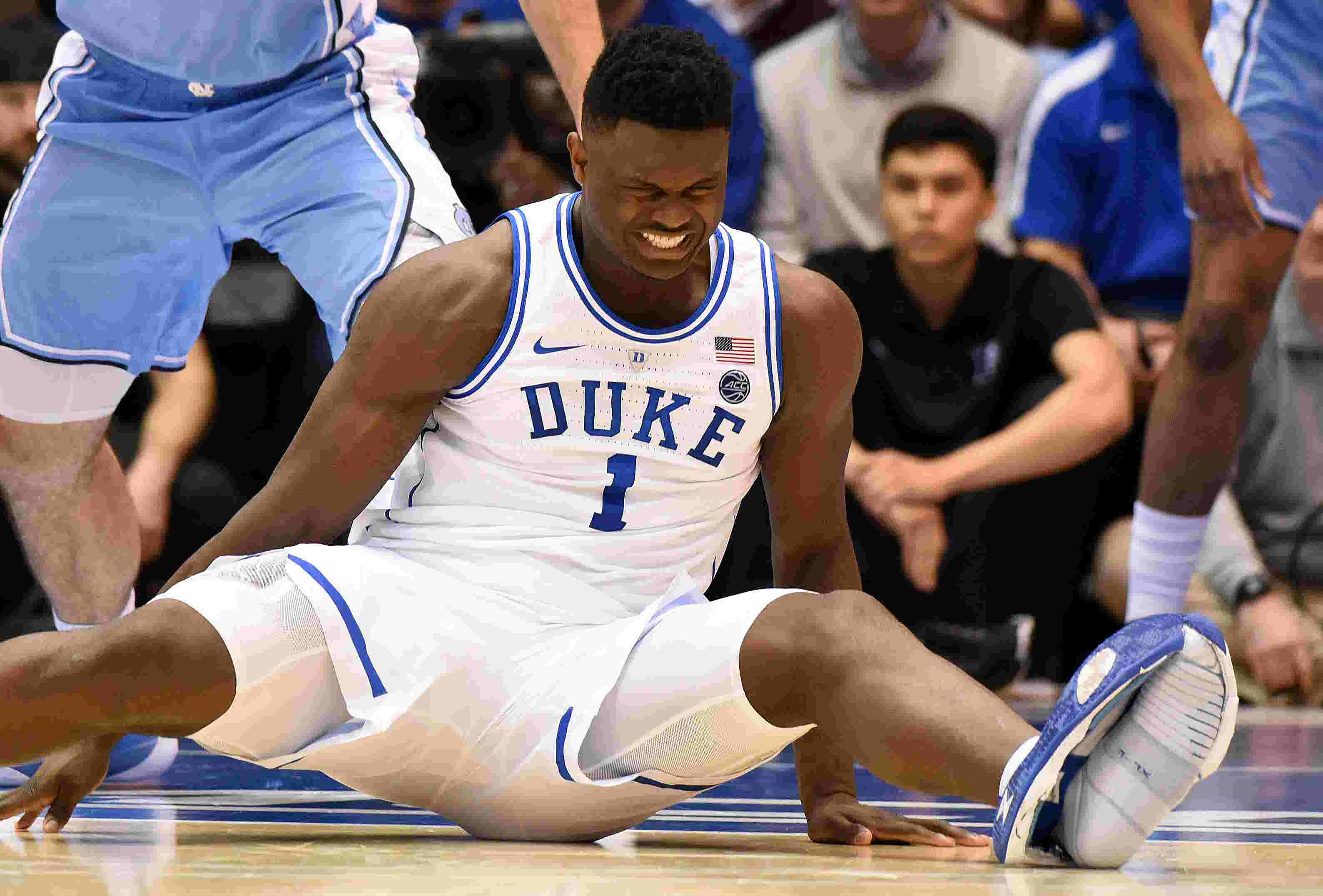 best website 7ffb9 7d75c Why no one should panic over Zion's injury