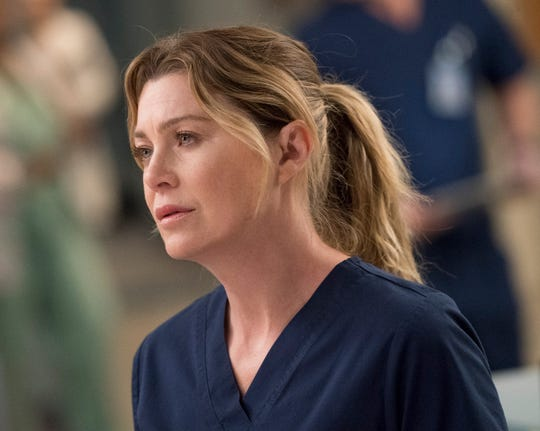 """Ellen Pompeo has played Dr. Meredith Grey for 15 seasons on ABC's """"Grey's Anatomy."""""""
