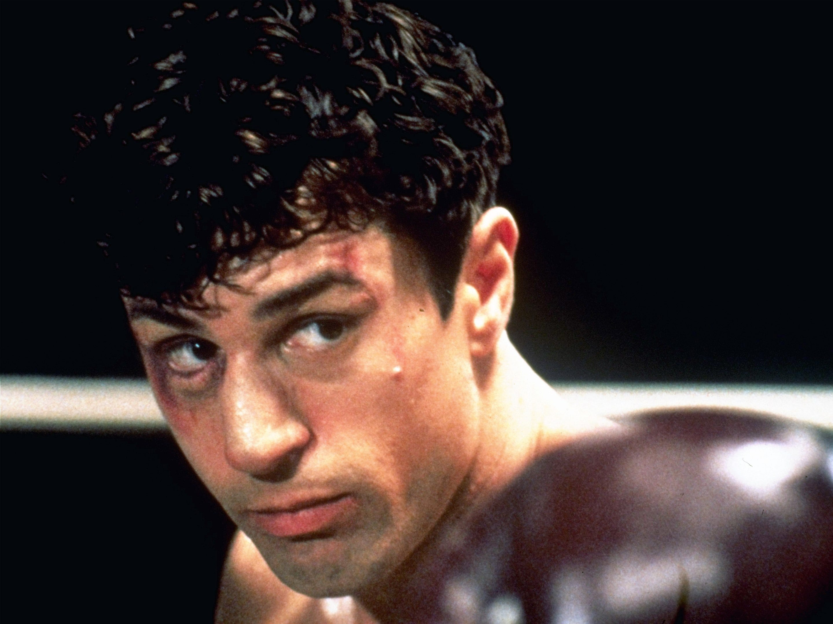 """In this 1980 file photo originally released by United Artists, Robert De Niro is shown in a scene from """"Raging Bull."""""""