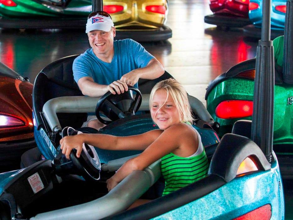 Knott's Berry Farm in California calls its attractionWheeler Dealer Bumper Cars.