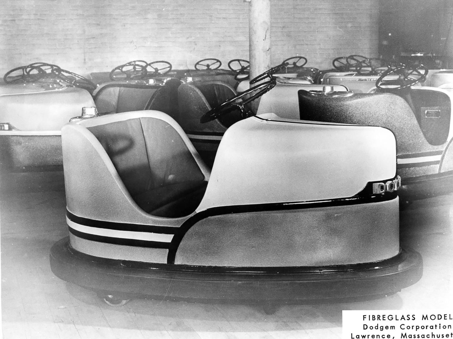 The Dodgem Corp. sold its business in 1961, and subsequent owners stopped making the rides in 1970.