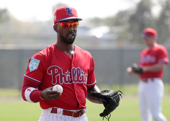 Andrew McCutchen signed a three-year, $51 million  deal with the Phillies this offseason.