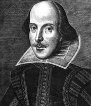 Did William Shakespeare look like this, the Martin Droeshout engraving?