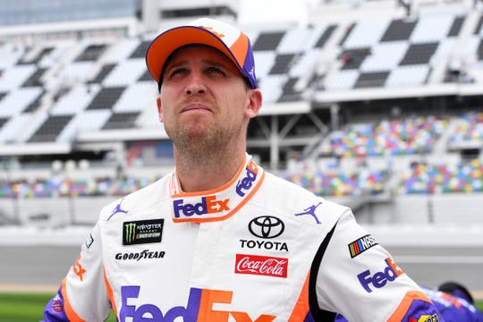 After going winless in 2018, Denny Hamlin kicked off the 2019 season by winning the Daytona 500.