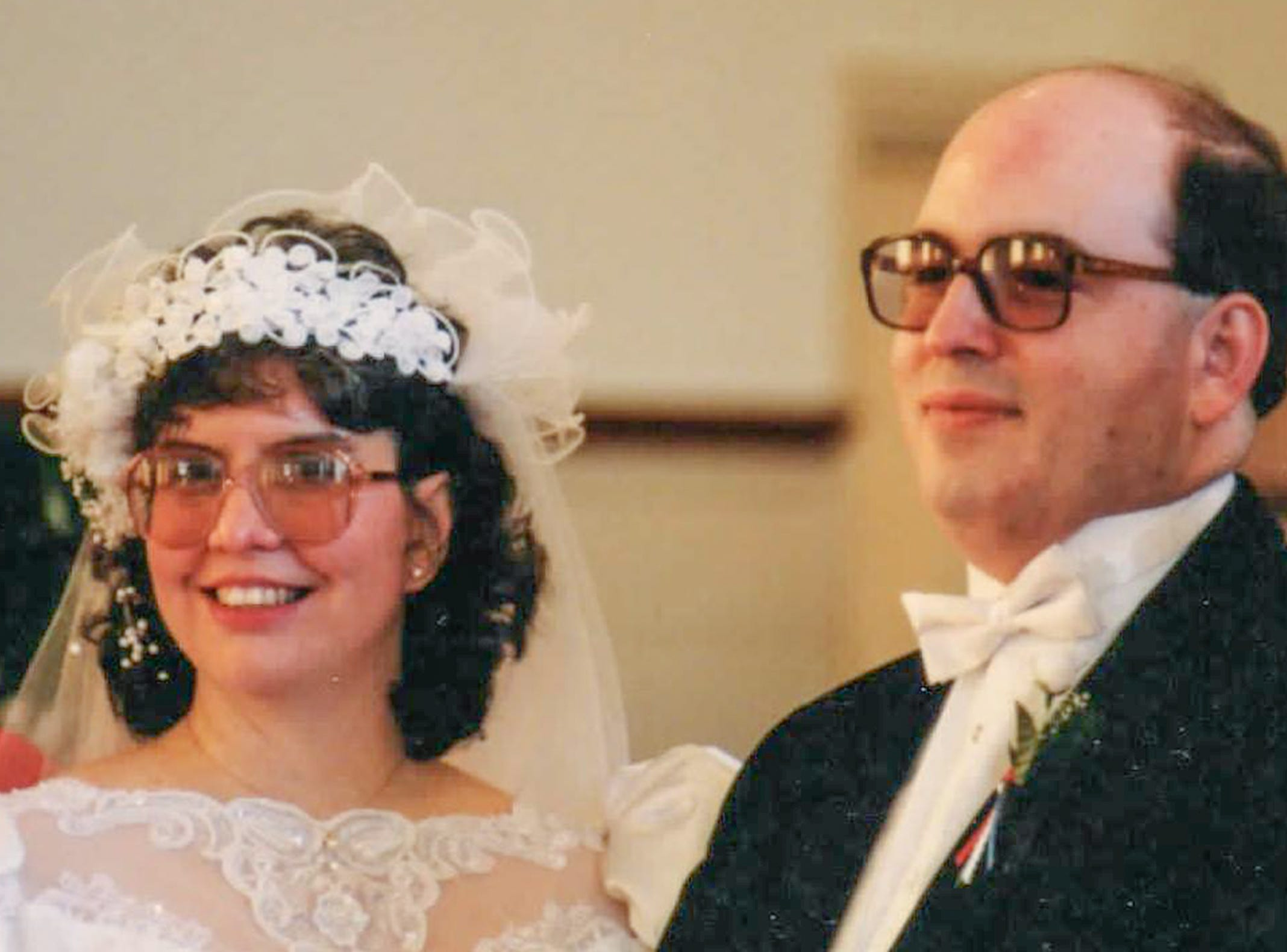 Richard and Linda Dupont of Easley at their wedding in 1991.