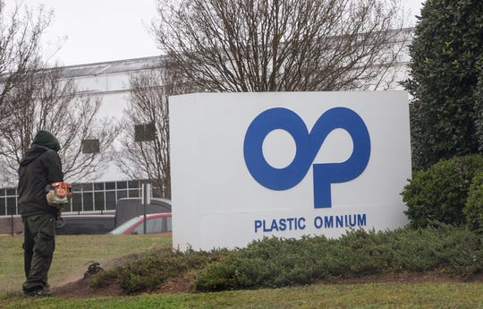 Plastic Omnium on Old Pearman Dairy Road in Anderson.