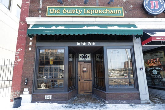 Three men were rescued after they became trapped in the sub-basement of The Durty Leprechaun located at 343 W. College Avenue Friday, February 22, 2019, in Appleton, Wis.