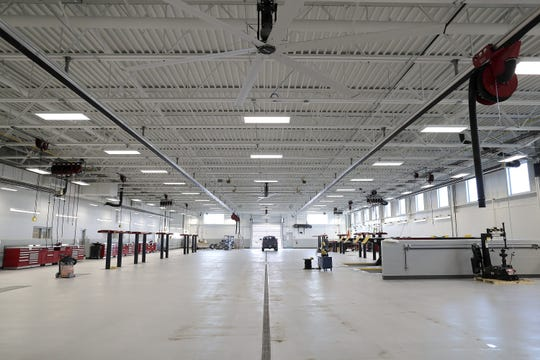 The new Kolosso Toyota service center is 27,000 square feet.