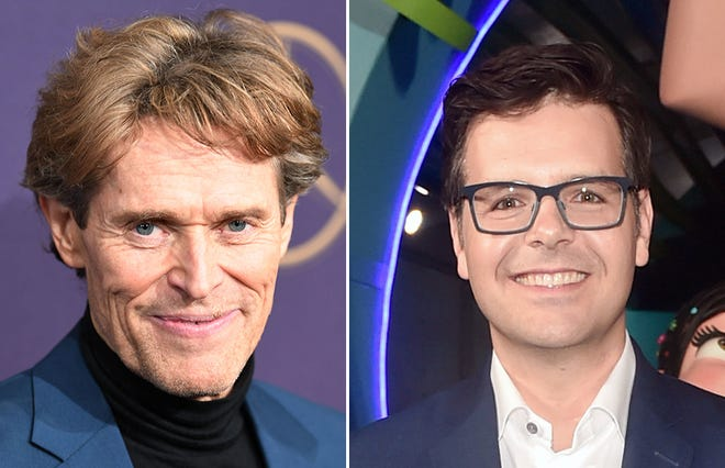 Fox Cities natives Willem Dafoe, left, and Phil Johnston both have a shot at an Oscar Sunday night.