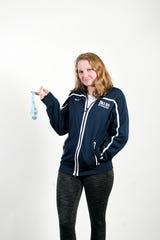 Abby Kriegler is a senior leader on the Asheville School swim team.