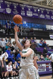 Mountain Heritage defeated Madison 49-36 in the Western Highlands Conference tournament semi-final game at Mitchell High School on Feb. 21, 2019.