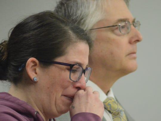 Johanna Willis and her attorney Donald Hammond.