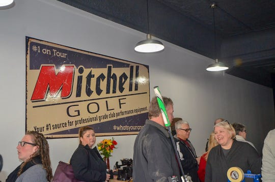 Mitchell Golf Performance Studio, at 304 South Superior St., had its downtown Albion grand opening on Thursday, Feb. 21, 2019.