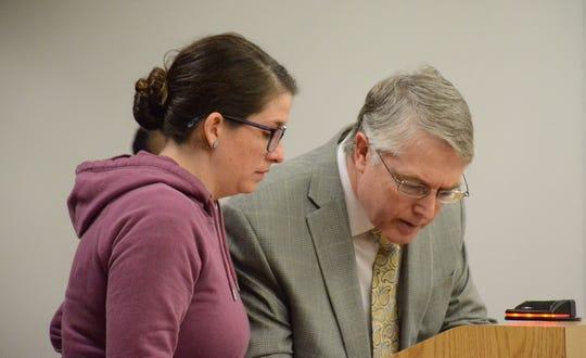 Johanna Willis and her attorney, Donald Hammond