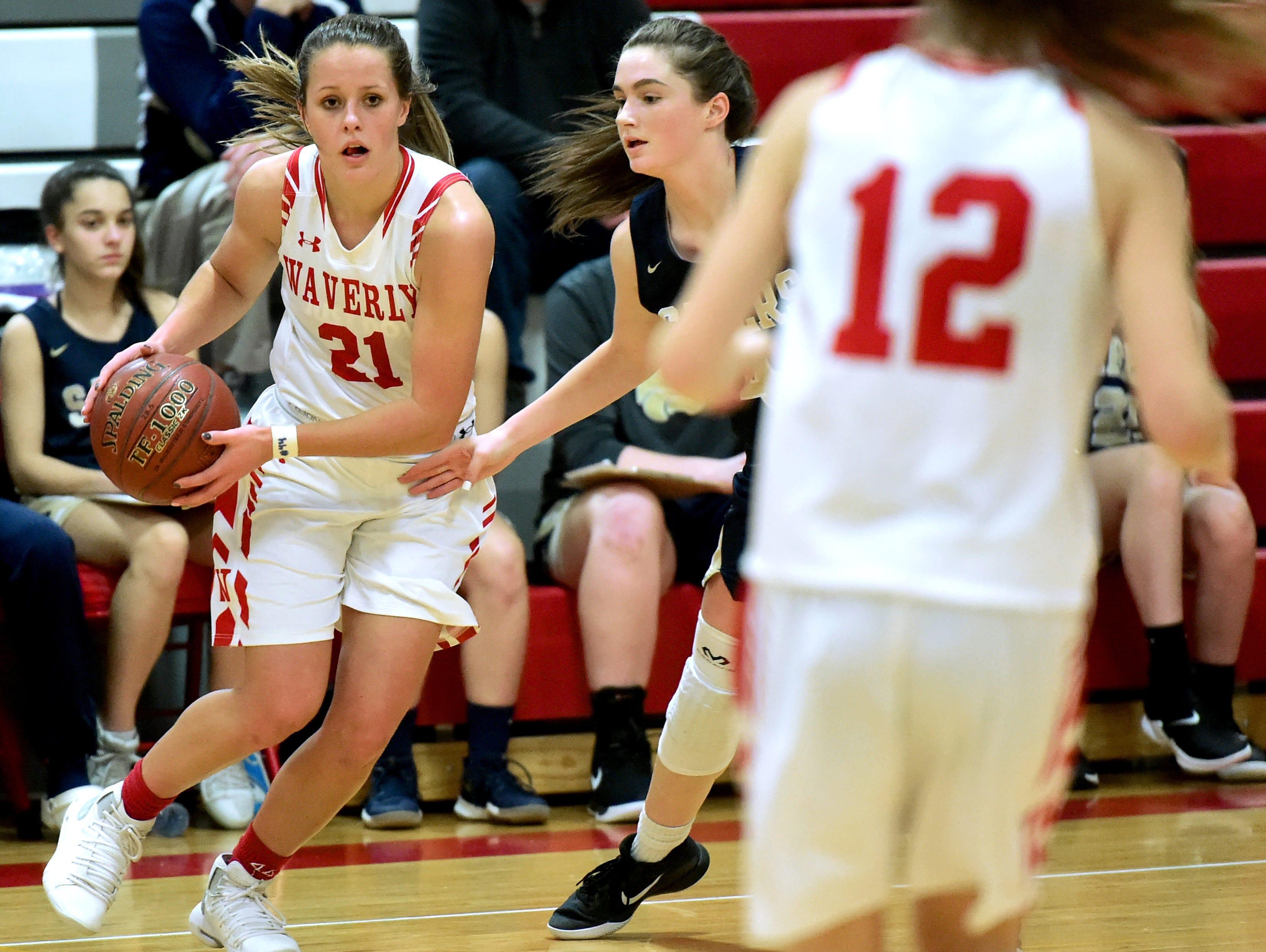 Susquehanna Valley at Waverly, Section 4 Class B girls basketball playoffs. February 21, 2019.