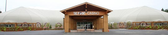 The Point Casino in Kingston is an example of a tensioned-membrane structure.