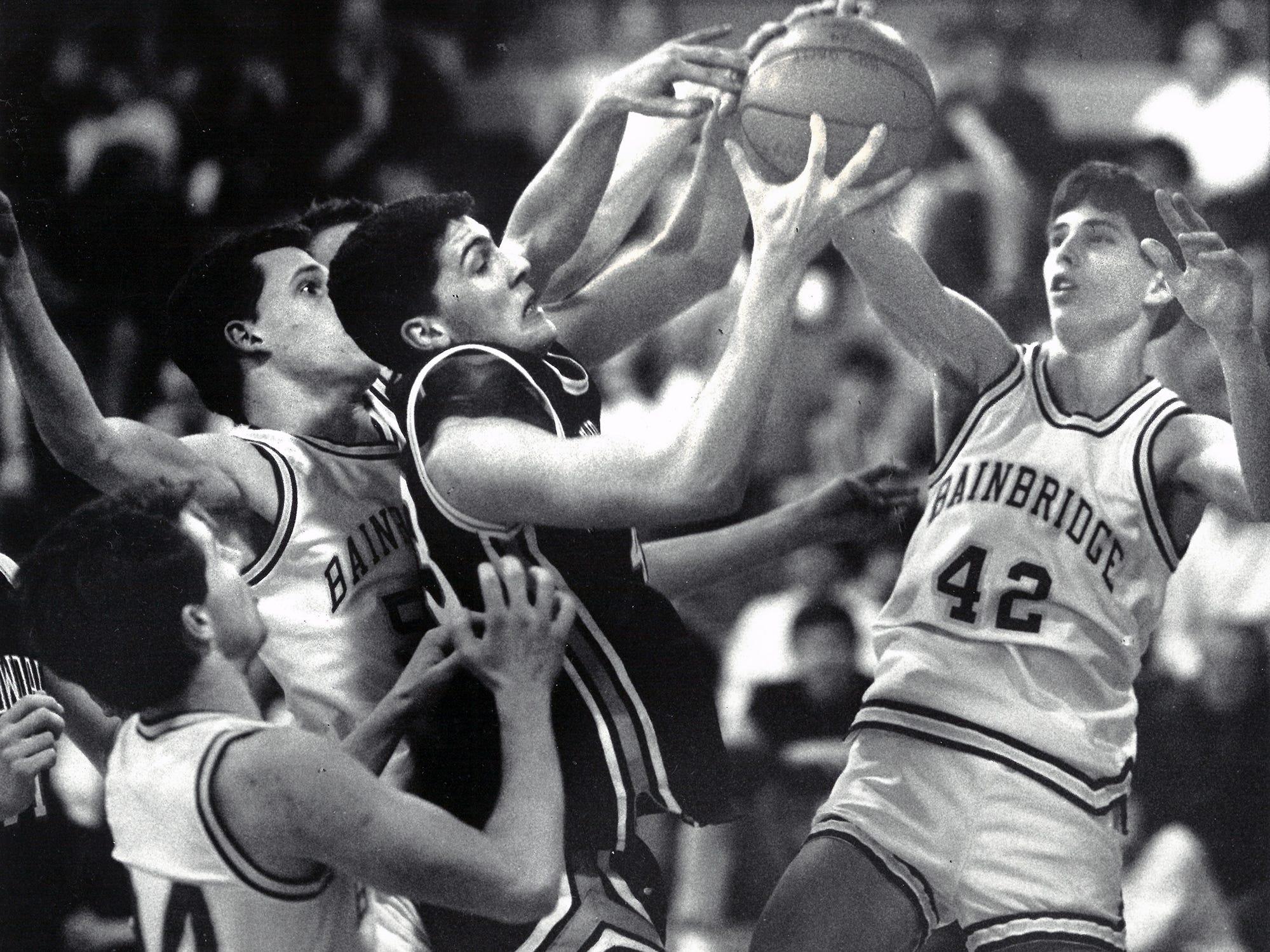 01/24/90Bainbridge Basketball