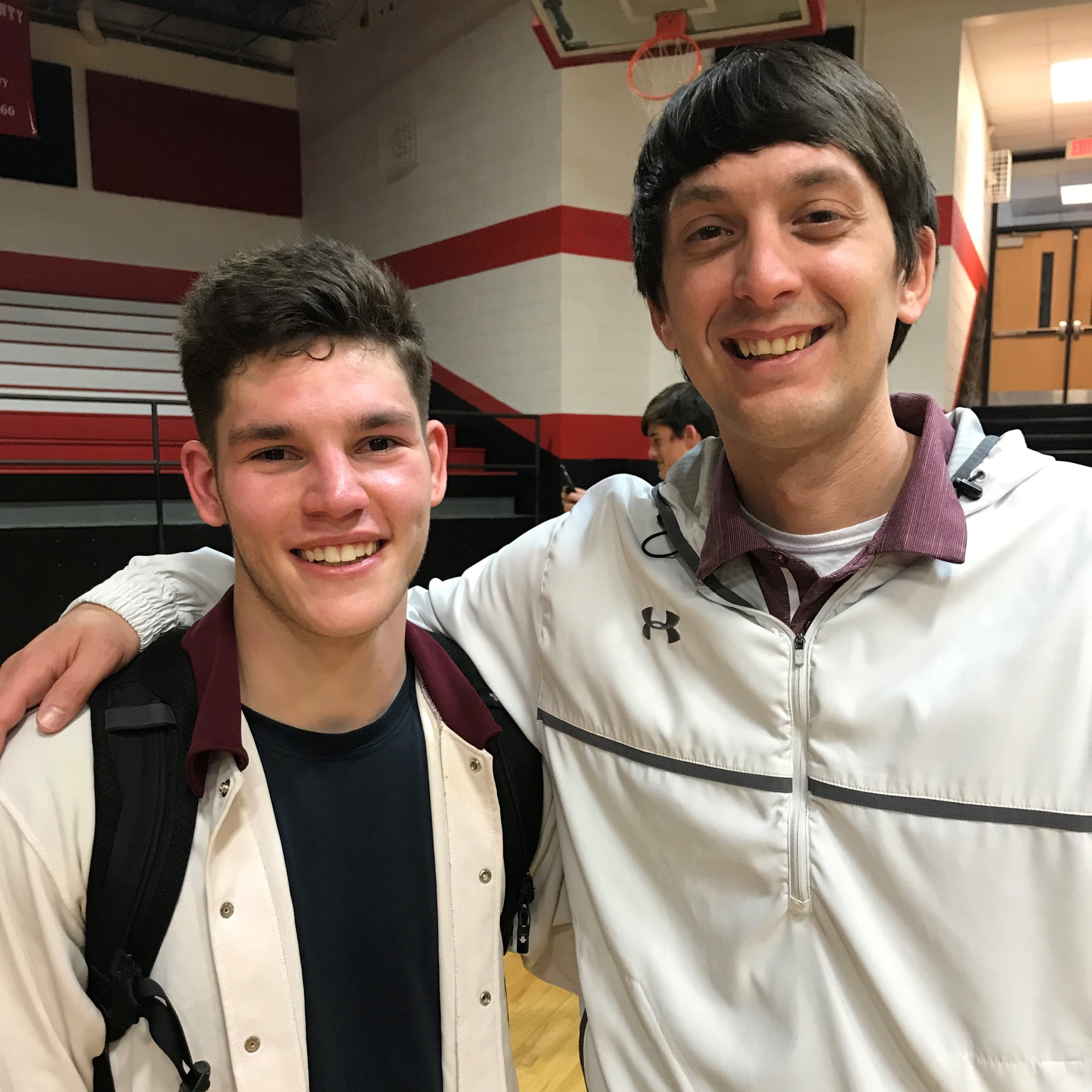 Gardner and Moore finish Owen careers with basketball milestones