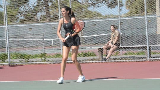 Florida Tech women's tennis dominated Eckerd 7-0 in St. Petersburg for the Panthers' second shutout in a row.
