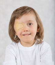 Amblyopia, also known as lazy eye, develops early in childhood and it rarely affects both eyes.