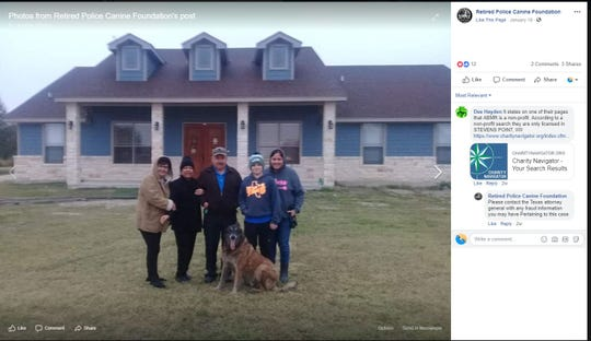 Endy, an 11-year-old retired Border Patrol K9, has been with a Wisconsin-based animal rescue group since Jan. 5, 2019. His owner, a Border Patrol agent, has attempted to get Endy back since he ran away after New Year's Eve fireworks in the Kingsville area.