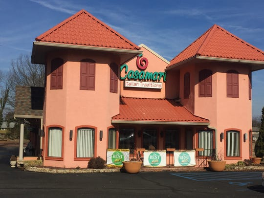Casamari, a BYOB restaurant in Burlington Township, is for sale. It has been cited in public polls in recent years as the best Italian restaurant in Burlington County.
