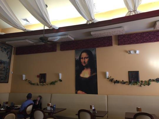 The Italianate interior decor of Casamari, an Italian restaurant closing in Burlington Township in March.