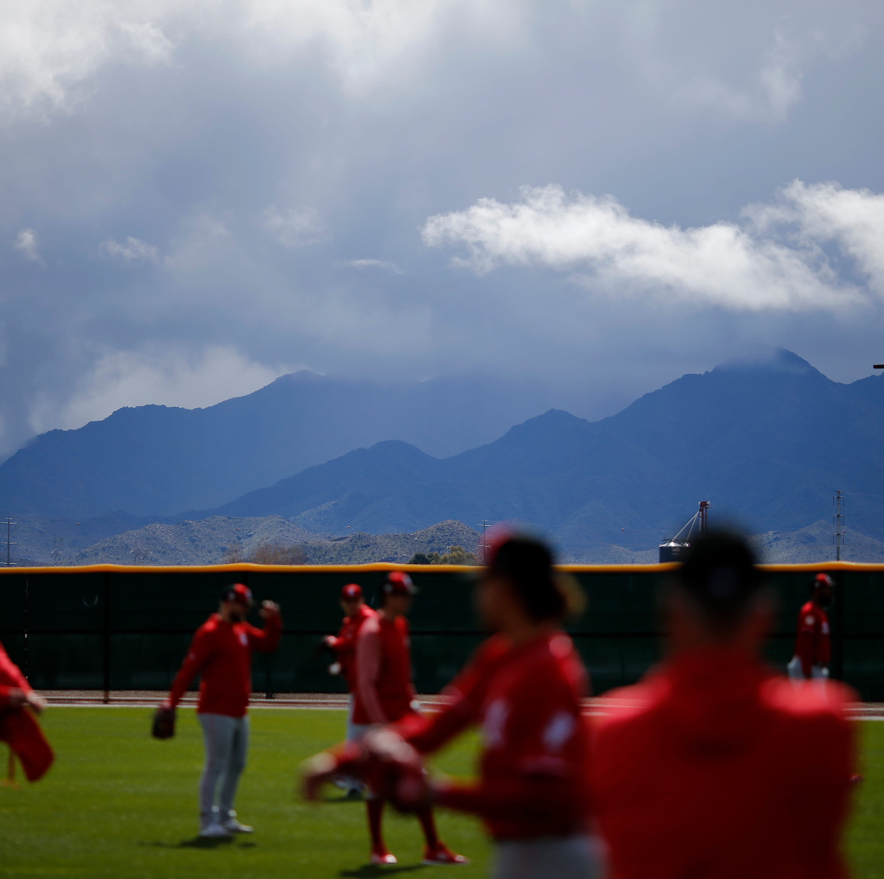 Spring Training observations: The Cincinnati Reds' final workout before the games begin