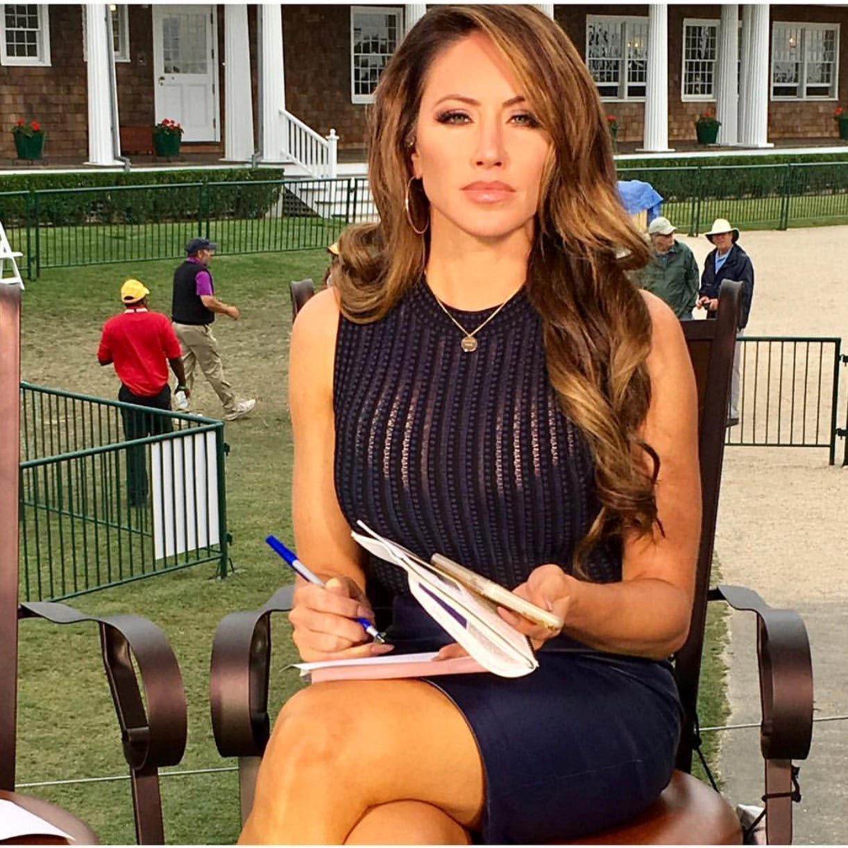 Q&A: Fox Sports personality Holly Sonders talks about her career path, athletic background