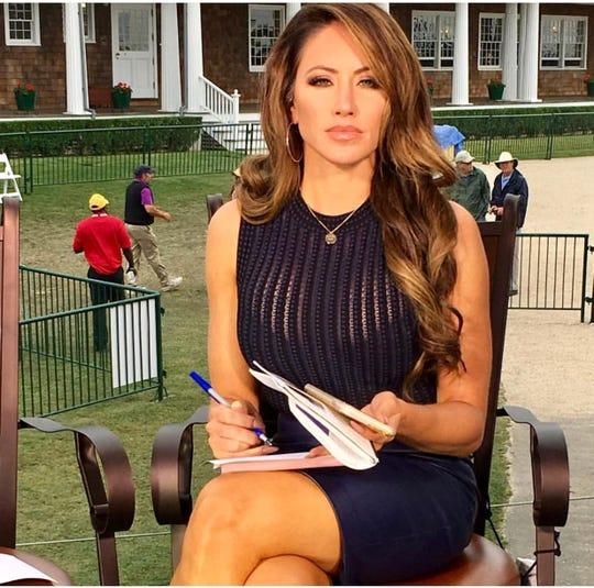 Fox Sports Personality Holly Sonders.