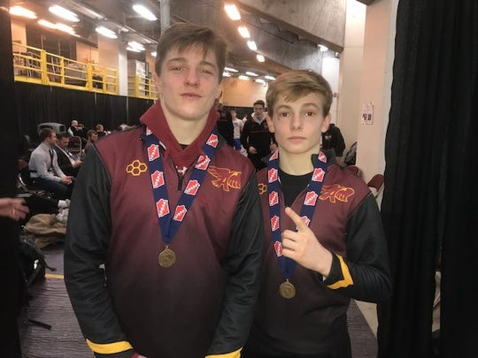 Ankeny's Caleb Rathtjen and Trever Anderson are ranked among the country's top 20 in their weight classes by FloWrestling.org.