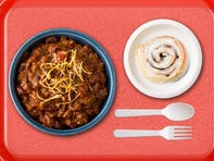 You can trace Iowa's taste for chili and cinnamon rolls back to elementary school lunch