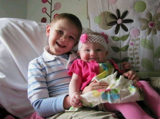 Carson and Claire DeJoode before the car accident that took their lives in 2010.