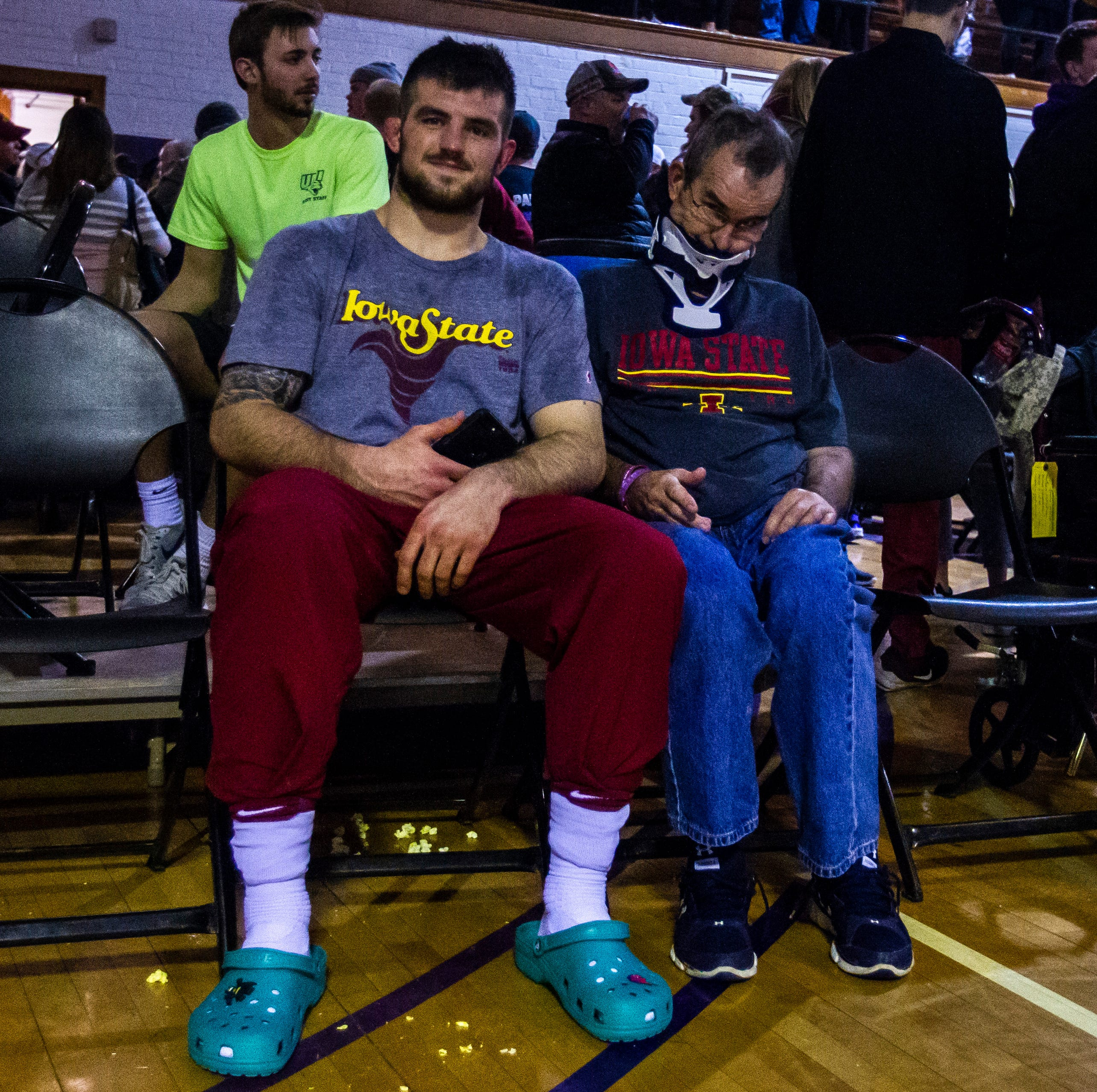 WATCH: Iowa State wrestler Willie Miklus pens an emotional letter to his late father
